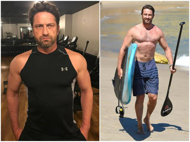 Gerard Butler's height, weight and body measurements
