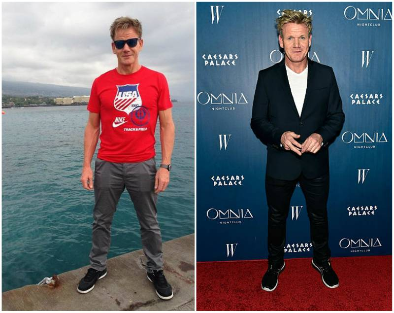 Gordon Ramsay's height, weight and age