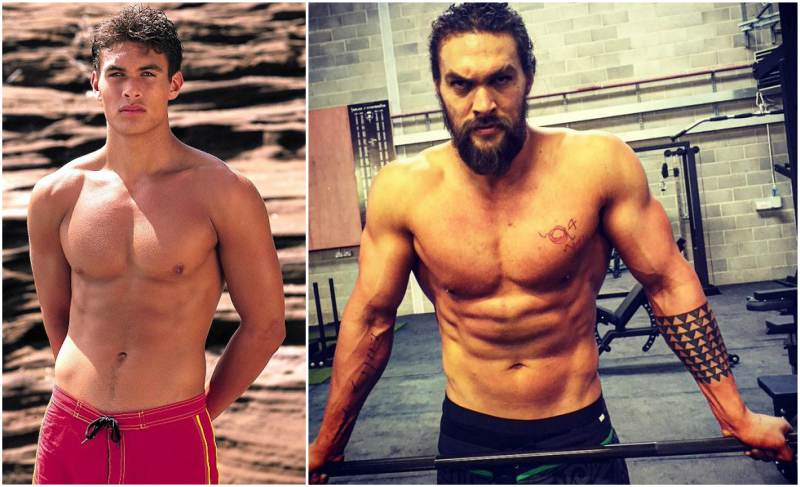 Crossover Lunge | Skip the Squats and Do These 15 Booty ... |Jason Momoa Body Scars