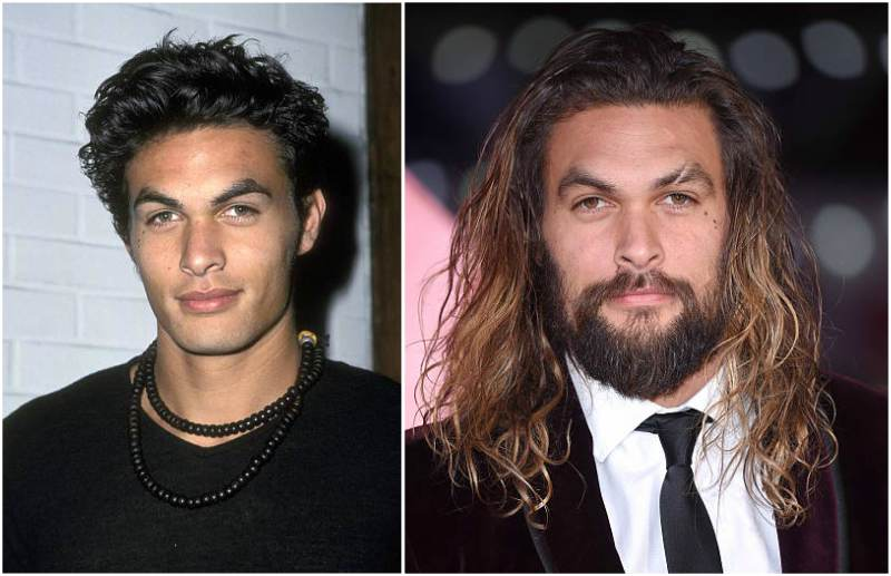 Jason Momoa's eyes and hair color