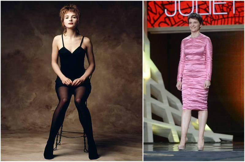 Juliette Binoche's height, weight and body measurements