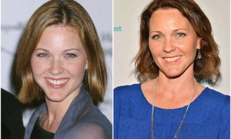 Kelli Williams' eyes and hair color
