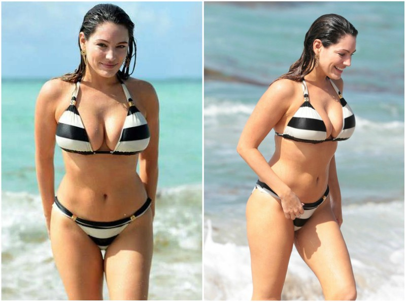 Kelly Brook's height, weight and body measurements