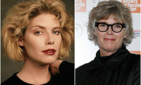 Kelly McGillis' eyes and hair color