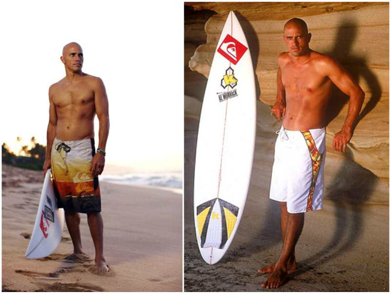 Kelly Slater's height, weight and age