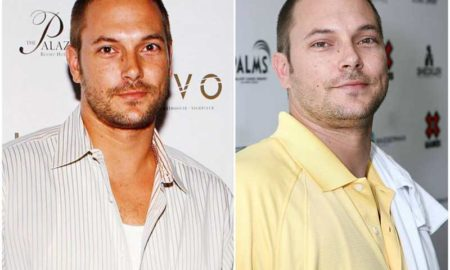 Kevin Federline's eyes and hair color