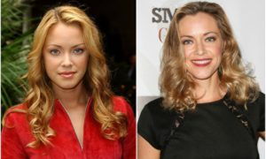 Kristanna Loken's eyes and hair color