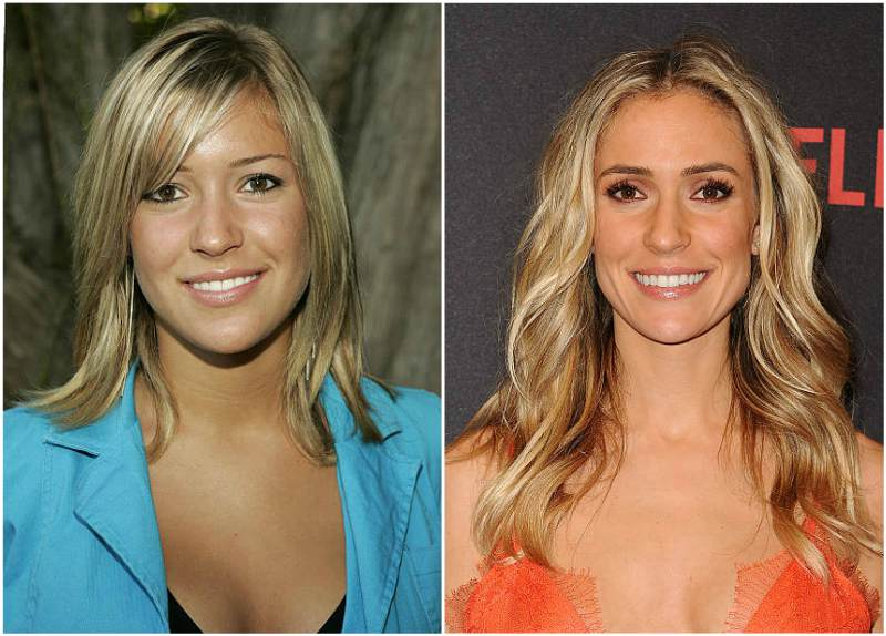 Kristin Cavallari's eyes and hair color