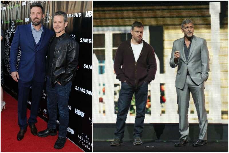 Matt Damon's height, weight and age