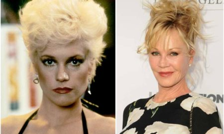 Melanie Griffith's eyes and hair color
