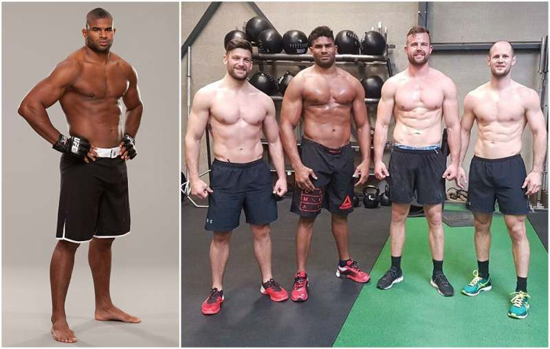 Alistair Overeem's height, weight and age