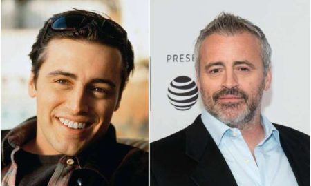 Matt LeBlanc's eyes and hair color