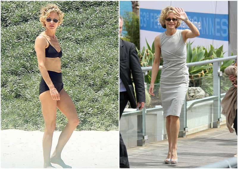 Meg Ryan's height, weight and body measurements