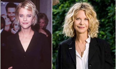 Meg Ryan's eyes and hair color
