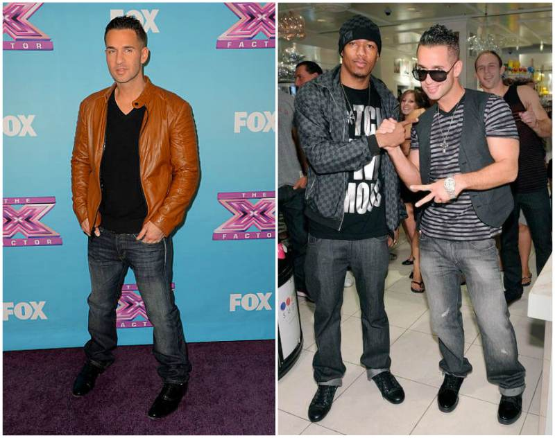 Mike Sorrentino's height, weight and body measurements