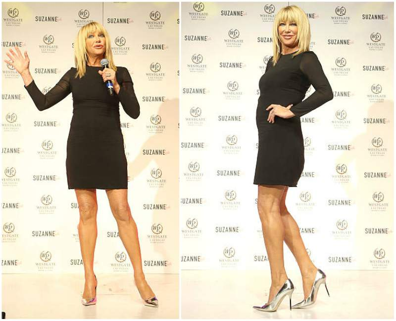 Suzanne Somers' height, weight and body measurements