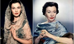 Vivien Leigh's eyes and hair color