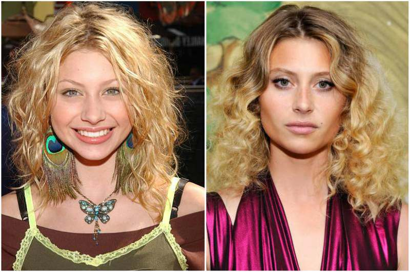 Aly Michalka's eyes and hair color