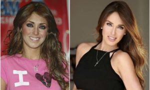 Anahi's eyes and hair color