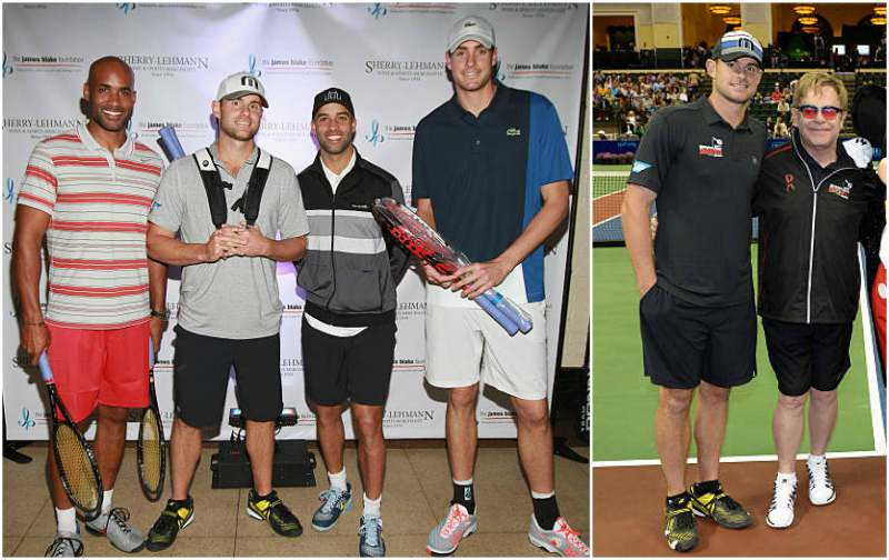 Andy Roddick's height, weight and body measurements