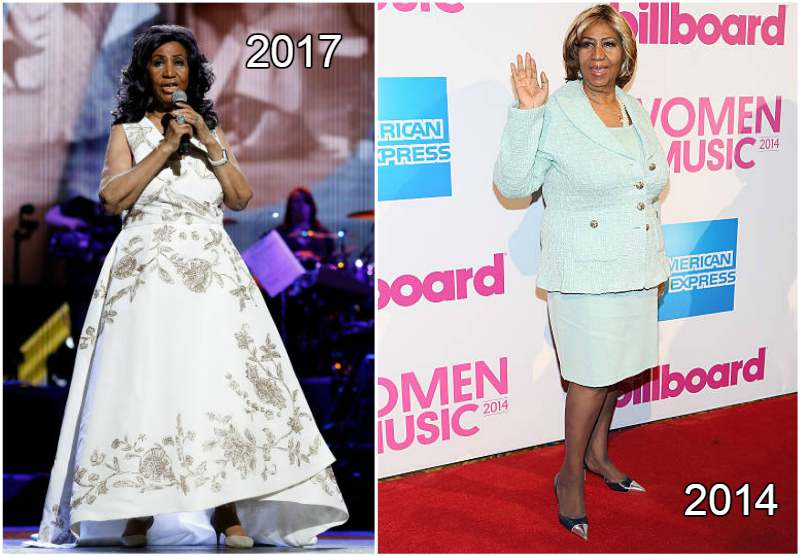 Aretha Franklin's height, weight and age
