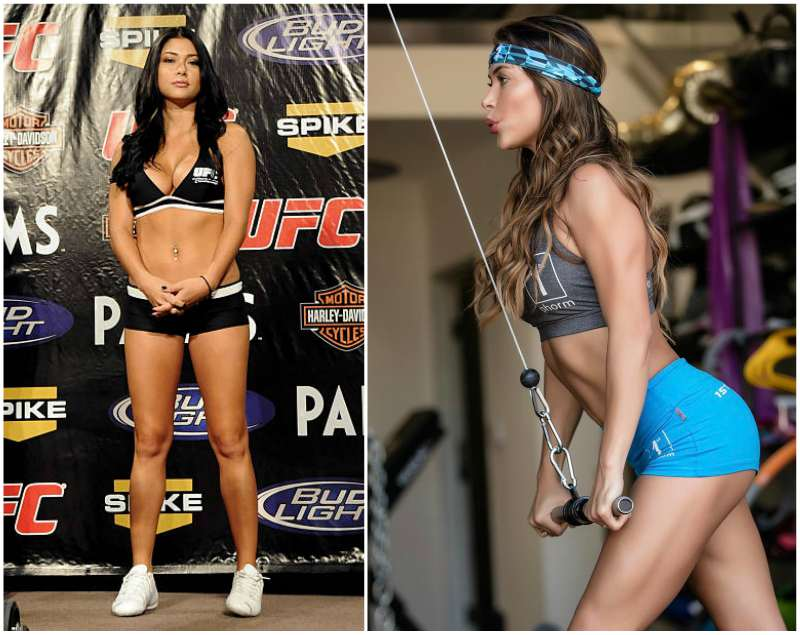 Arianny Celeste's height, weight and body measurements