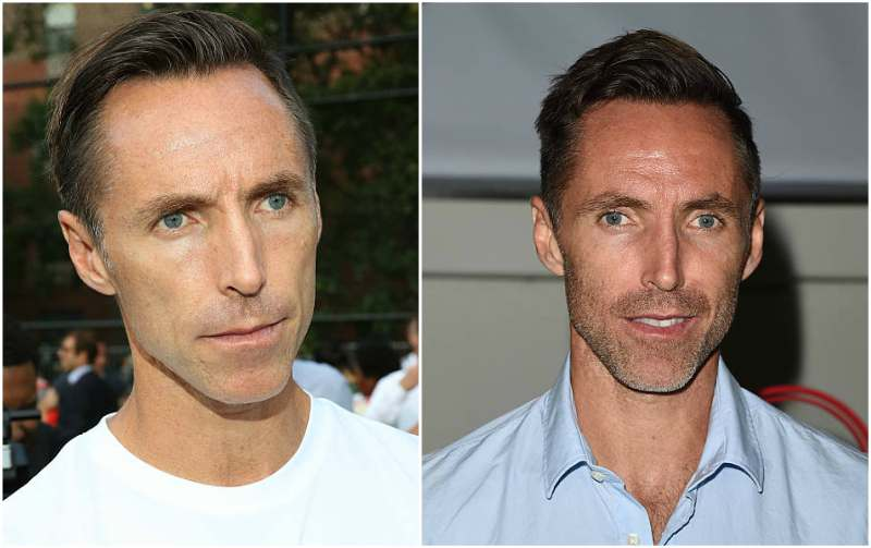 Steve Nash's eyes and hair color