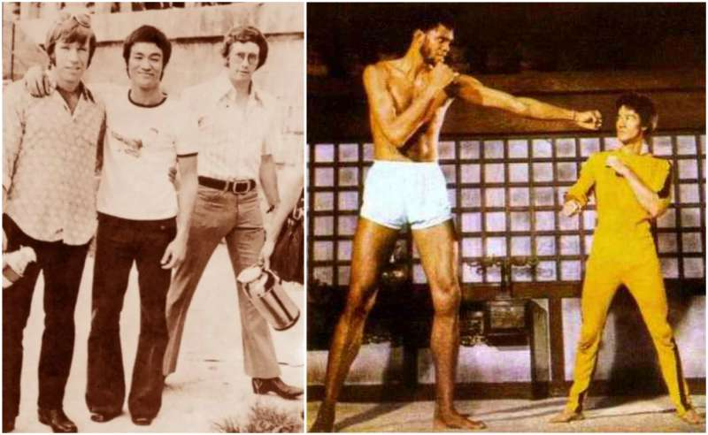 Bruce Lee's height, weight and body measurements