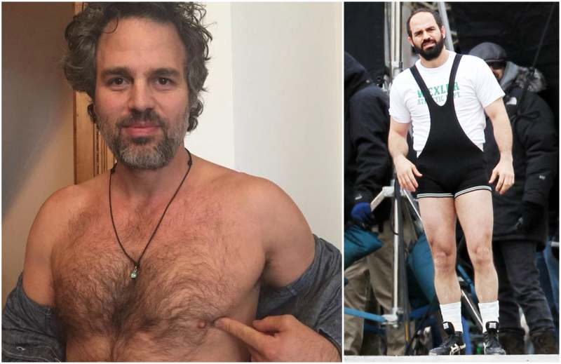 Mark Ruffalo's height, weight and body measurements
