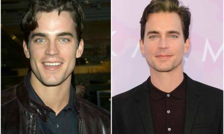 Matt Bomer's eyes and hair color
