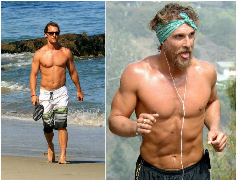 Matthew McConaughey's height, weight and body measurements