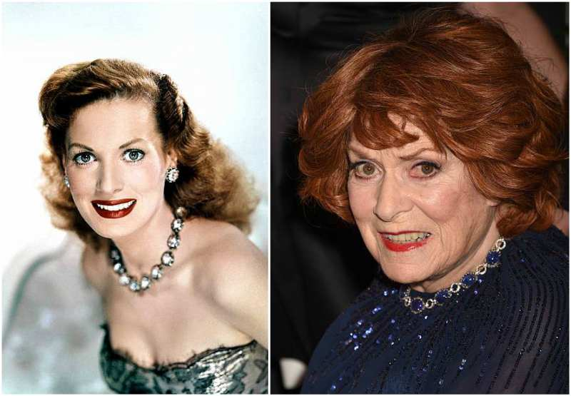 Maureen O'Hara's eyes and hair color