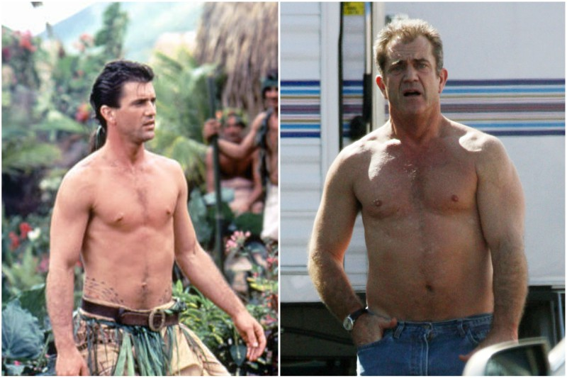 Mel Gibson's height, weight and body measurements