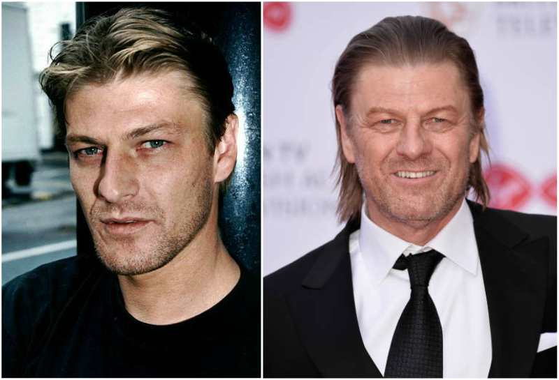 Sean Bean's eyes and hair color