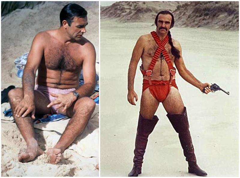 Sean Connery's height, weight and age