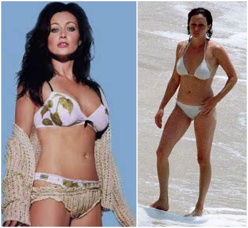 Shannen Doherty's height, weight and body measurements