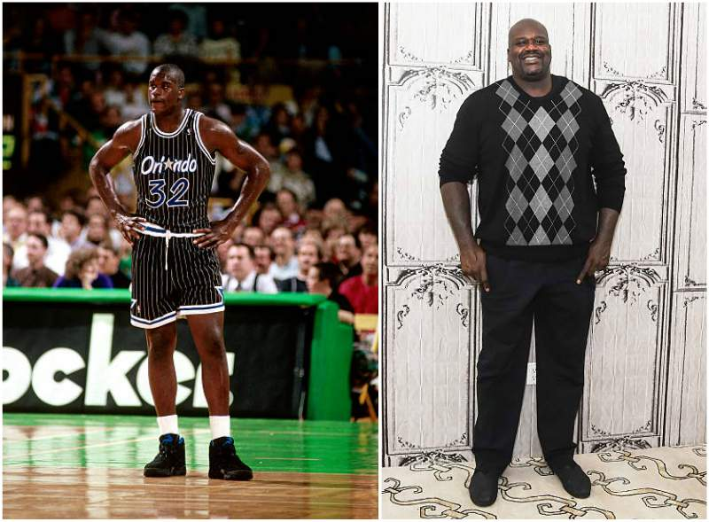 Shaquille O'Neal's height, weight and body measurements