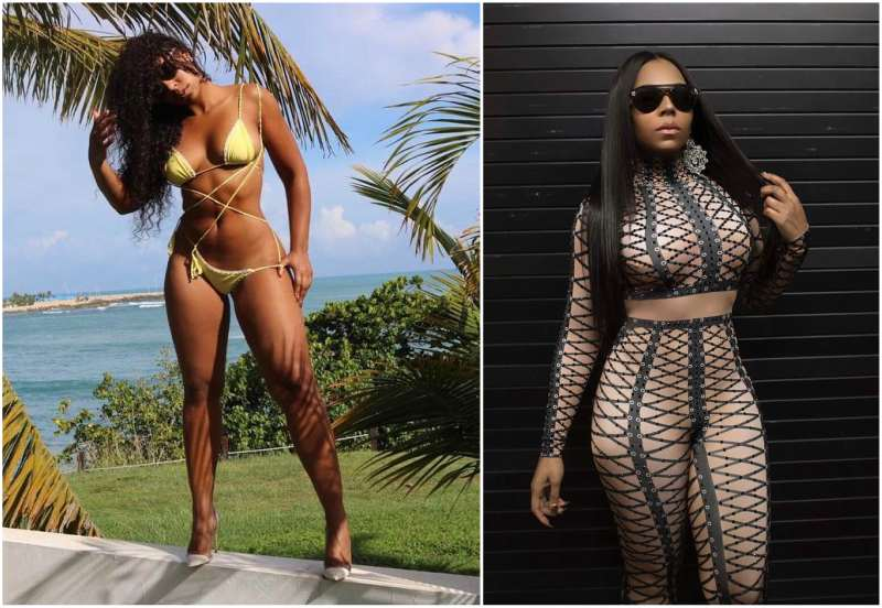 Singer Ashanti's height, weight and body measurements