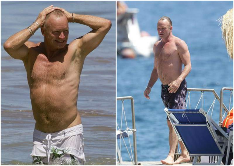 Sting's height, weight and age