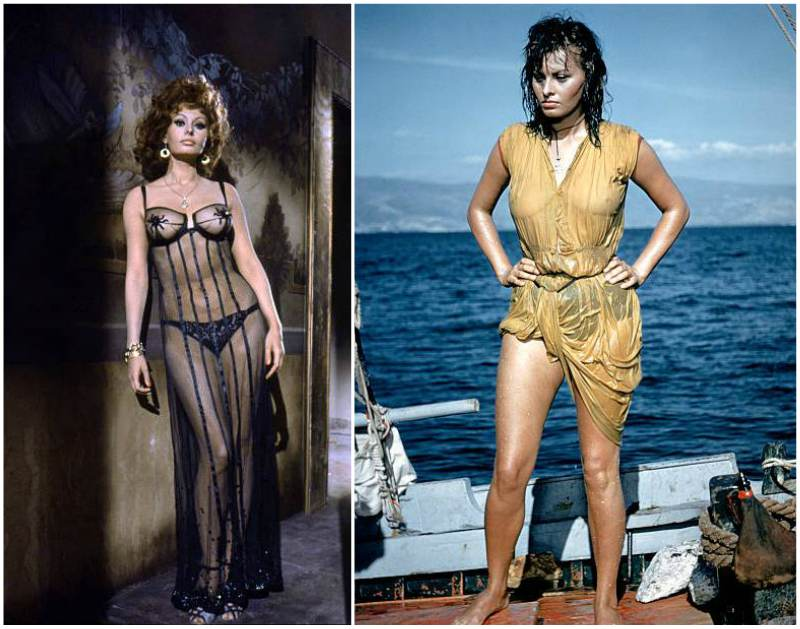 Sophia Loren's height, weight and body measurements
