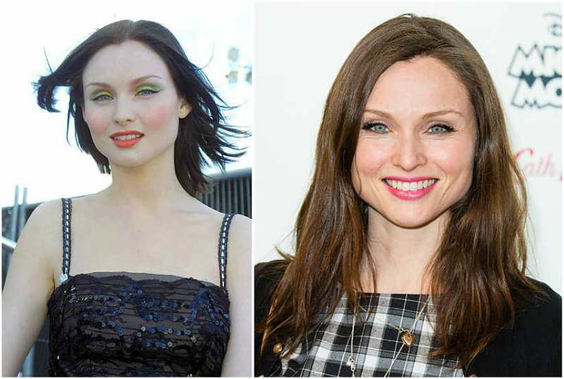 Sophie Ellis-Bextor's eyes and hair color