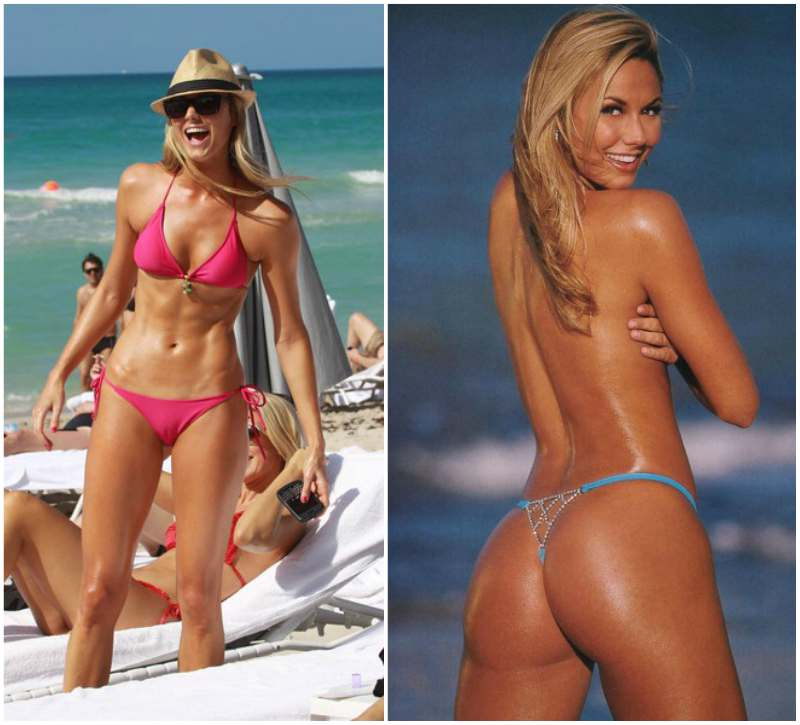 Stacy Keibler's height, weight and body measurements