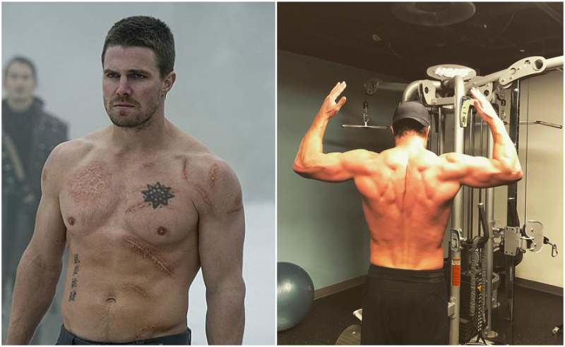 Stephen Amell's height, weight and body measurements