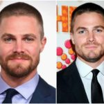 Inseparable with a hero. Stephen Amell's body shape