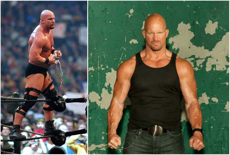 Steve Austin's height, weight and age