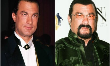 Steven Seagal's eyes and hair color