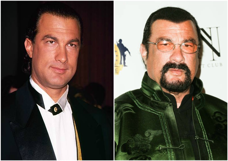 Steven Seagal's height...