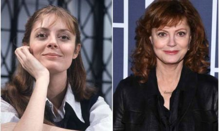 Susan Sarandon's eyes and hair color