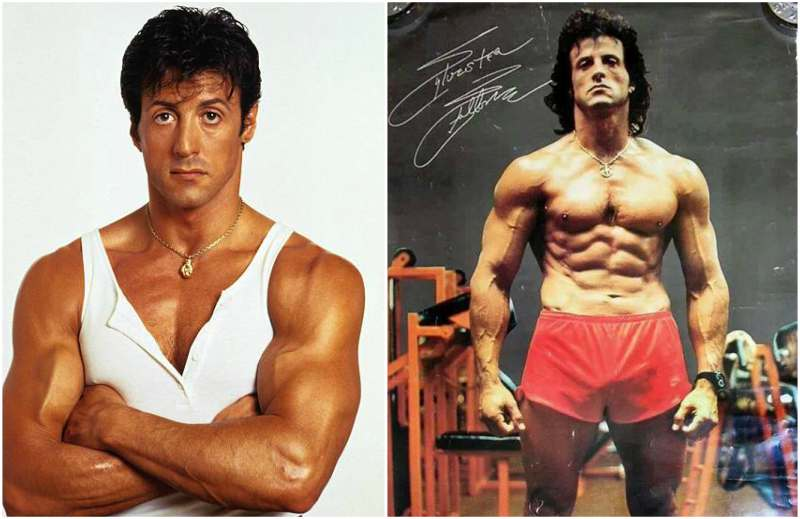 Sylvester Stallone's height, weight and body measurements