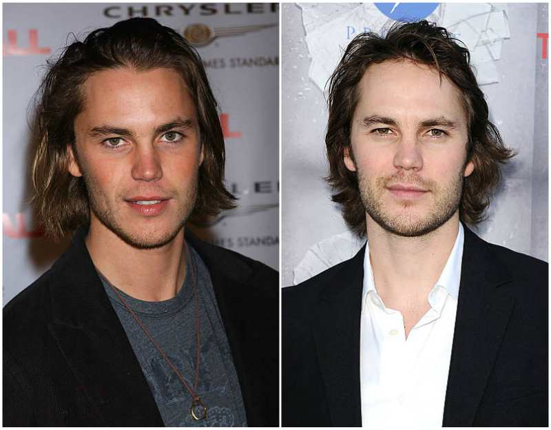 Taylor Kitsch's eyes and hair color